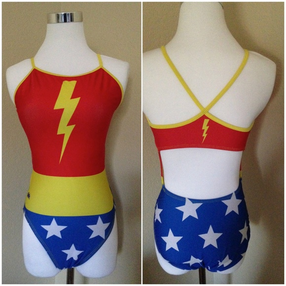bcee8309eeb Splish Awesome Girl WonderWoman Swimsuit L. Splish.  M_5b15b76faaa5b88bdd129e2d. M_5b15b76faaa5b8bdd0129e35.  M_5b15b76f45c8b3e619ddbd5d